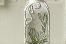 Decorative şişeler