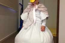 Jemima Puddleduck / My daughter's middle name is Jemima and she loves Beatrix Potter so it just made sense that she would be Jemima Puddleduck for book week. It took 2 days but I'm so happy with it.