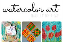 Watercolor Painting / Watercolor painting, watercolor painting instruction, watercolor painting techniques, painting instruction, painting tips, watercolor tips
