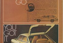 Vintage Car and Motorcycle Ads