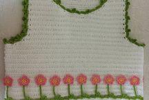 Crochet: baby girl moda
