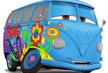 Vw bussen / Vw hippie bussen