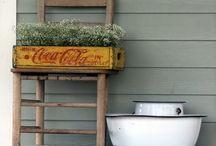 Porch decor / by Didi McCune