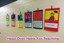 head over heels for teaching