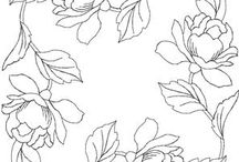 Flower embroidery patterns