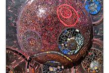 Glass in mosaics