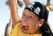 Pirate Party / Ahoy! Sail the seven seas with these pirate party ideas. Find whimsical and creative pirate inspired food, decorations, crafts, favors, desserts, invitations, cards, and more! We love this theme for a boy's birthday party or even an adult costume party. / by Punchbowl