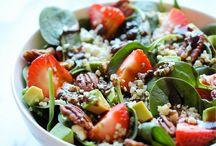 Quinoa recipies, clean and lean / Food