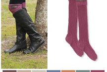 Boot Socks / So many styles to choose from!