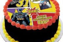 Déco BD et Disney pour Gâteau d'anniversaire