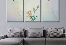 Art Deco Infrared heaters / Custom Design, any picture can be printed on the heaters