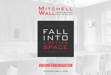 Room For Renovation / There's always Room For Renovation, no matter if it's in your home or your everyday life! Join us this fall by renovating your life for the next 30 days with simple tips and ideas from our team.