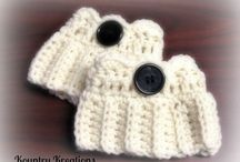 Boot Cuffs / Boot cuffs, boot toppers, and legwarmers with tall boots