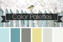 Color palettes / Color palette inspiration & ideas
