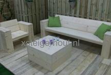 Loungebank artikel nummer 1 / www.xsteigerhout.nl Monster