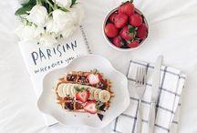 Breakfast Flat Lay Photography