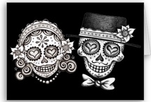 my lovely skulls:)