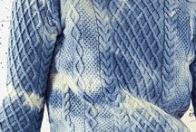 inspiration-indigo knit