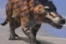 Prehistoric creatures(Cenozoic Era, Devonian etc...)