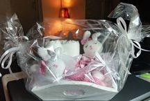 baby cadeautjes / ik maak geboorte cadeautjes en bedank zakjes