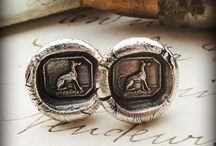Wax Seal Jewelry / Wax Seal Jewelry Pendants, Bracelets, Necklaces, Charms