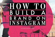 Instagram love! / Instagram is a fantastic tool for all small businesses and entrepreneurs, on this board you'll find some of my favorite resources to grow your brand on Instagram.