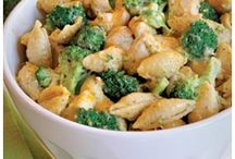 Food / Broccoli and chicken skillet