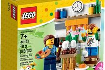 New LEGO Set for Easter-LEGO 40121 Painting Easter Eggs
