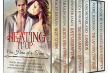 Heating It Up! One Hero at a Time! / Love Across the Ages! HEATING IT UP – ONE HERO AT A TIME! 7 full-length historical novels sweep you away to Medieval Scotland, Regency England, Civil War America, The Rugged West & The Gilded Age. Get swept away by a timeless romance!