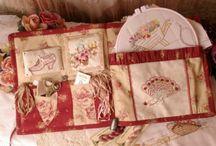 sewing box, costureros, boîte à couture