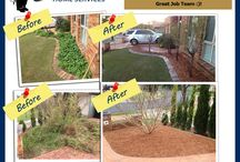 Before and After / Look at the fantastic work all of our Franchisees have put into JHS ! :)