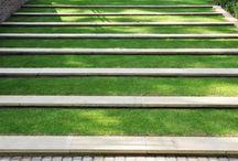 Garden Steps + Stairs