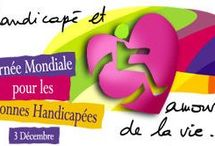 journée internationale des personnes handicapées / des documents à la bibliothèque de Mériadeck, hors de l'espace Diderot