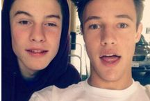Cameron Dallas and Shawn Mendes