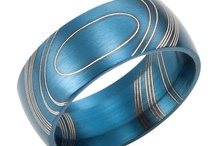 Wedding band blue collection
