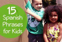 Spanish for kids / by Jennifer Leck