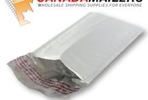 Poly Bubble Mailers / The lightest and most durable mailers we have! Not only will you save on your shipping costs, you can also be confident your items will be protected!