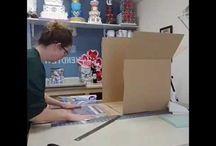 วิธีทำกล่องเค้ก
