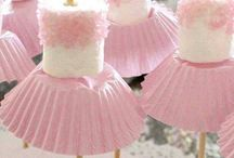 {Molly's ballerina party}