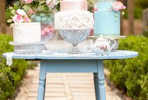 Wedding Cake Tables / Beautiful inspiration to display wedding cakes