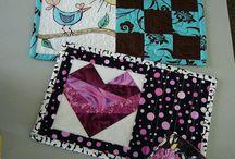 mug rug, place mats, candle mats