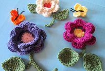 Crochet flower ideas