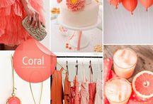 Weddings - colors / by Leona Morelock Designs