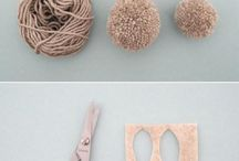 Pom Pom project ideas / Ideas and tutorials from other crafters
