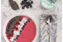 Food | Smoothie Bowl / How to make an easy, healthy smoothie bowl