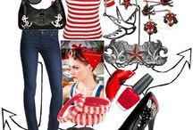 Pin up style