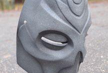 Skyrim dragon priest krosis mask / Ручная работа.маска для косплея