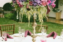 Wedding Centerpieces / Wedding centerpiece created by Florals by Jenny and designs that I admire from others.