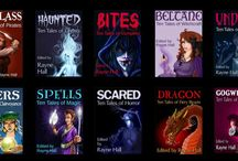 """The """"Ten Tales"""" Books / Each book in the Ten Tales series is an anthology containing ten stories by ten authors, each interpreting the theme in a different way. The editor is Rayne Hall."""