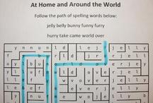 Teach: Spelling Activities / by Kristina Kroon